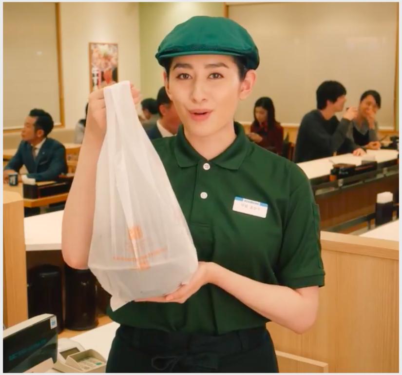 仏・佐藤二朗と女優・早見あかりの吉野家CMが面白いと話題!動画