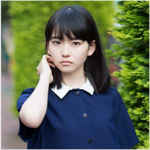透明感のある山田杏奈