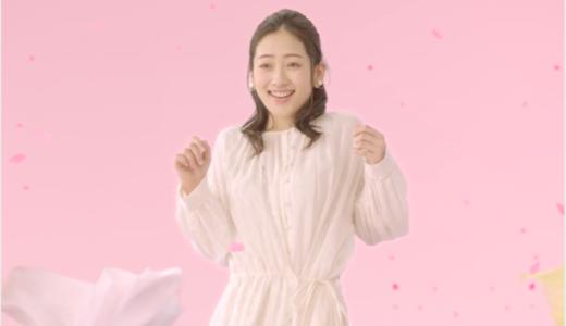 【イオン】CM出演の可愛いピアスの女優は誰?サクラフェスティバル