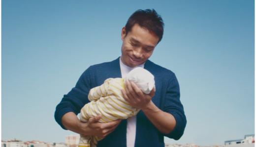 たまごクラブひよこクラブCMで赤ちゃんを抱く男性は誰?曲名や歌手も!