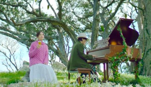 淡麗グリーンラベルCMの女優と俳優は誰?セーターの美人とピアノを弾く男性