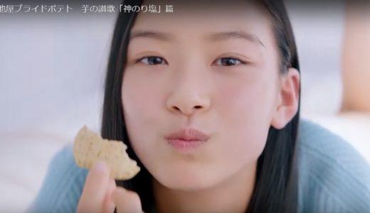 湖池屋 フライドポテト神のり塩コマーシャルの可愛い女の子は誰?
