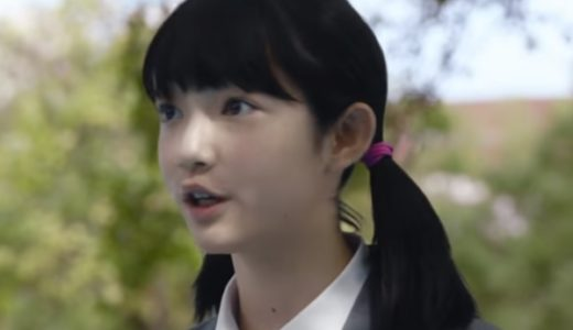 『ソフトバンク5Gってドラえもん?』CMの中学生のしずかちゃん役の女の子は誰?
