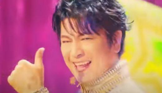 『スカパー!みんなのファン祭り』CMで派手な衣装で歌って踊る俳優は及川光博さん!メイキングも!