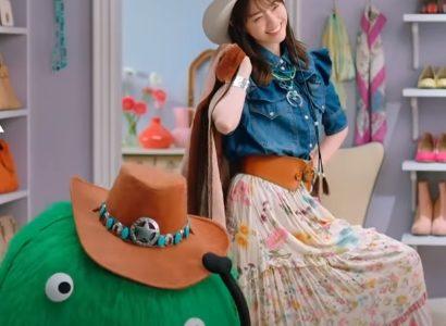 リクルート『SUUMO(スーモ)』新CMのカウガール姿が可愛い女優は西野七瀬さん!